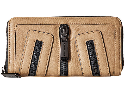 Steve Madden - Zipper Wallet (Taupe) Wallet Handbags