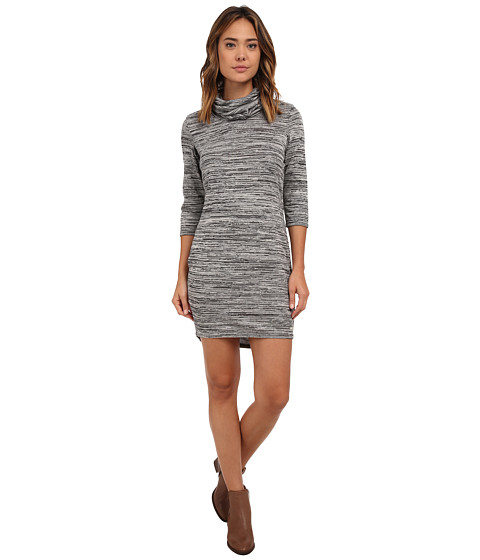 Bench - Nest Dress (Dark Shadow Marl) Women