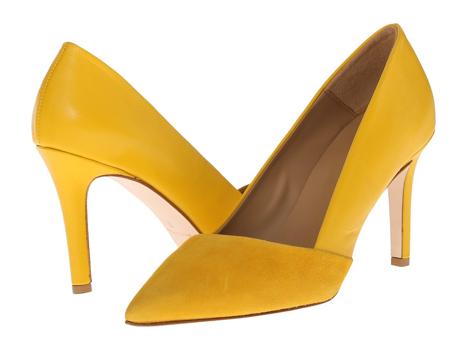Massimo Matteo Suede and Leather Pump (Tramonto) Women