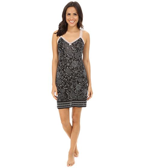 P.J. Salvage - Blk N Blush Sleep Chemise (Black) Women
