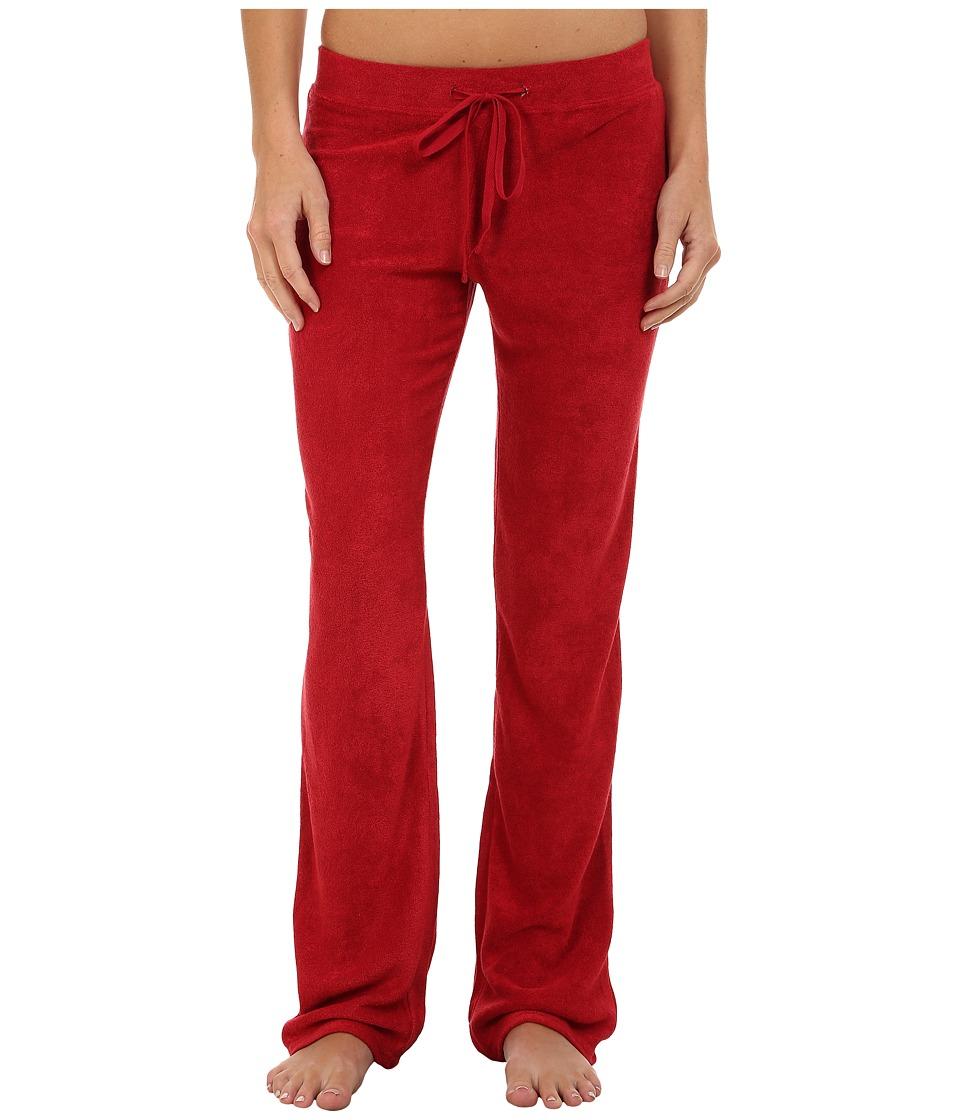 N by Natori - Terry Lounge Pants (Brick) Women