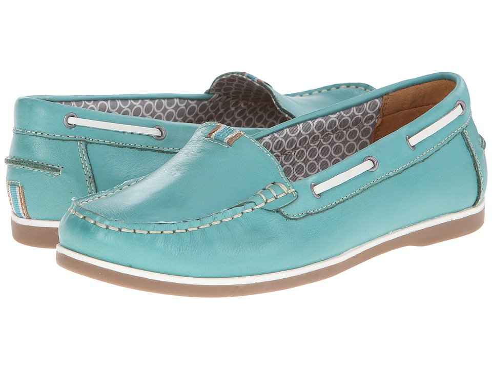Naturalizer - Hanover (Sail Boat Turquoise) Women's Slip on Shoes