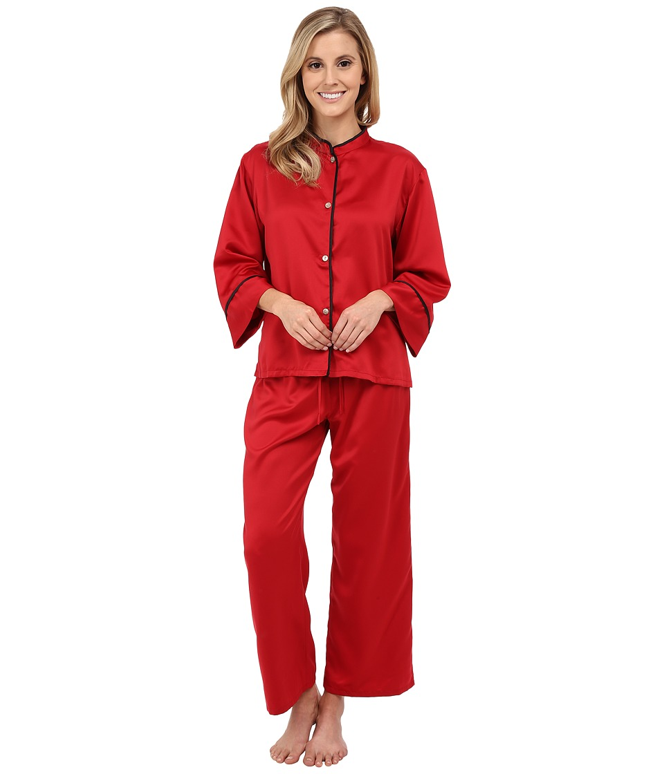 N by Natori - Solid Charm PJ (Brick) Women's Pajama Sets