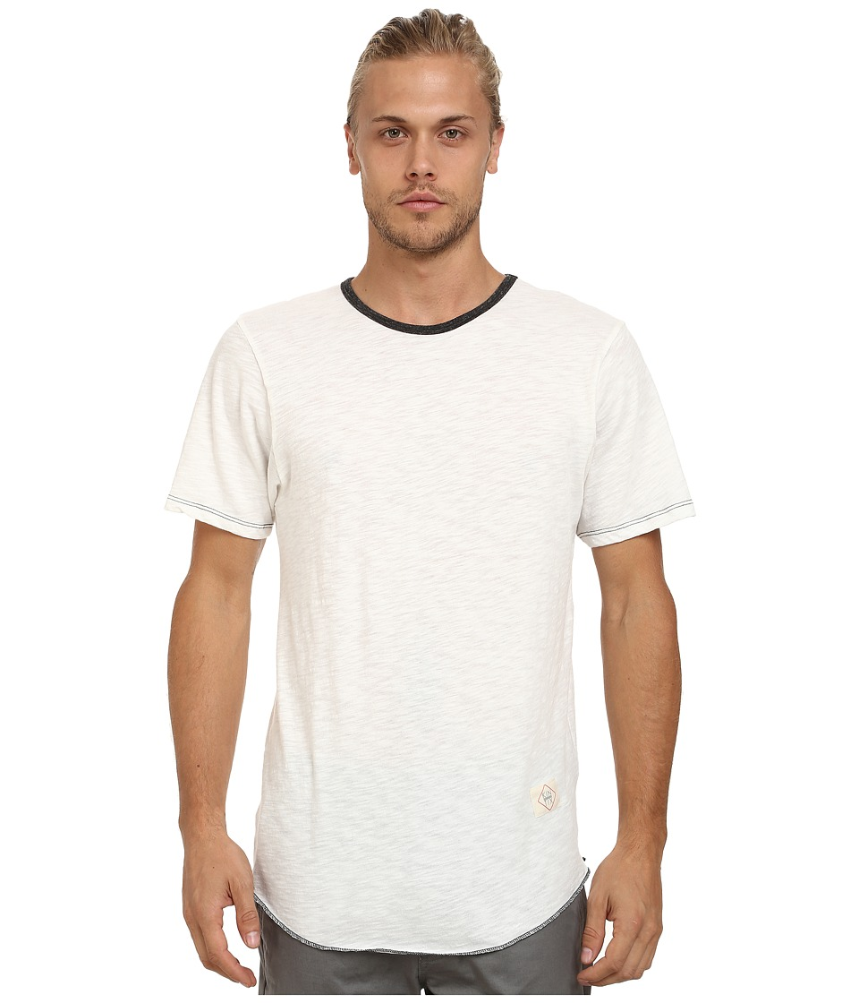 KINETIX - Standard Long Fashion Tee (White) Men's T Shirt