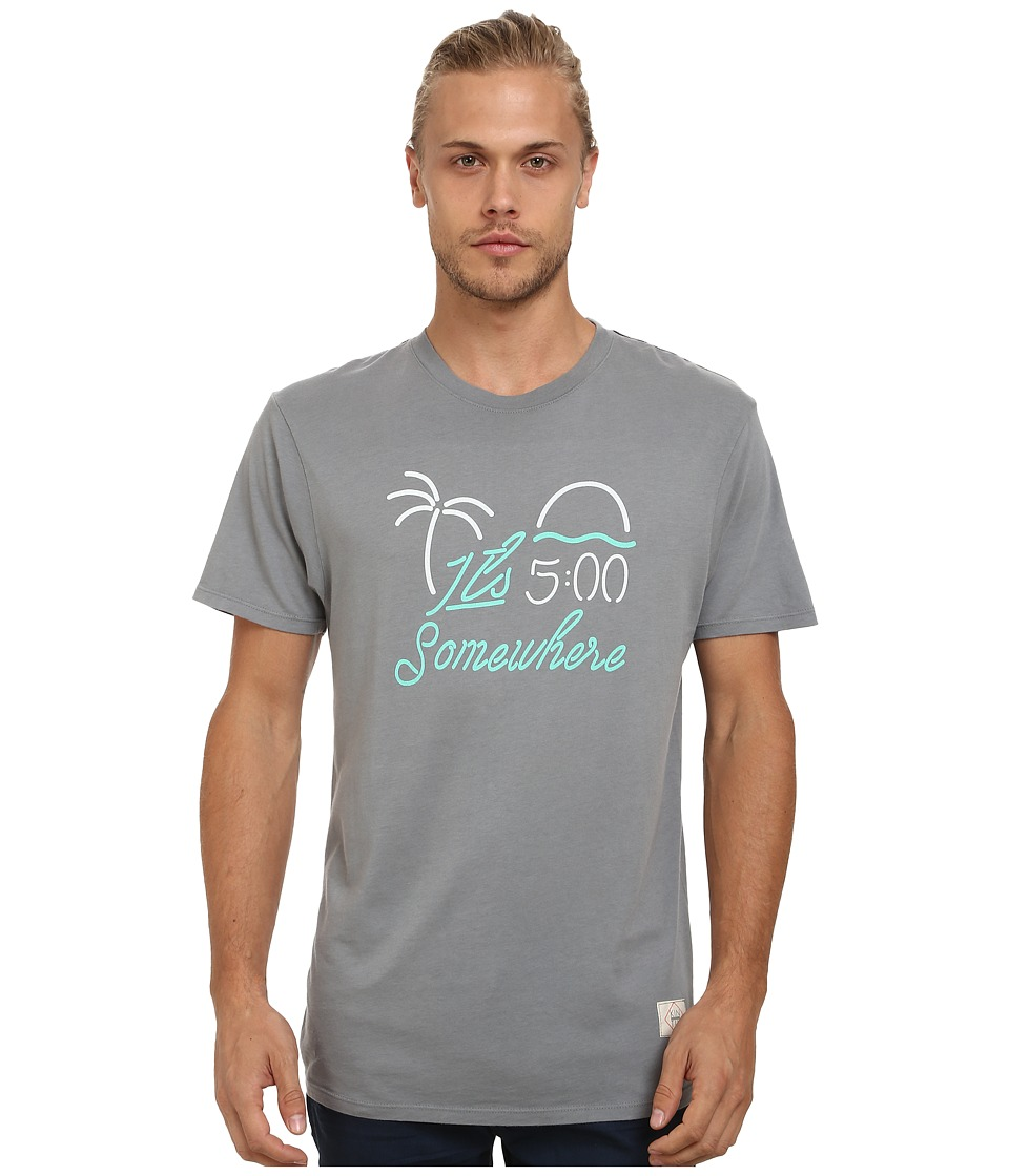 KINETIX - 5 PM Somewhere Tee (Slate) Men's T Shirt