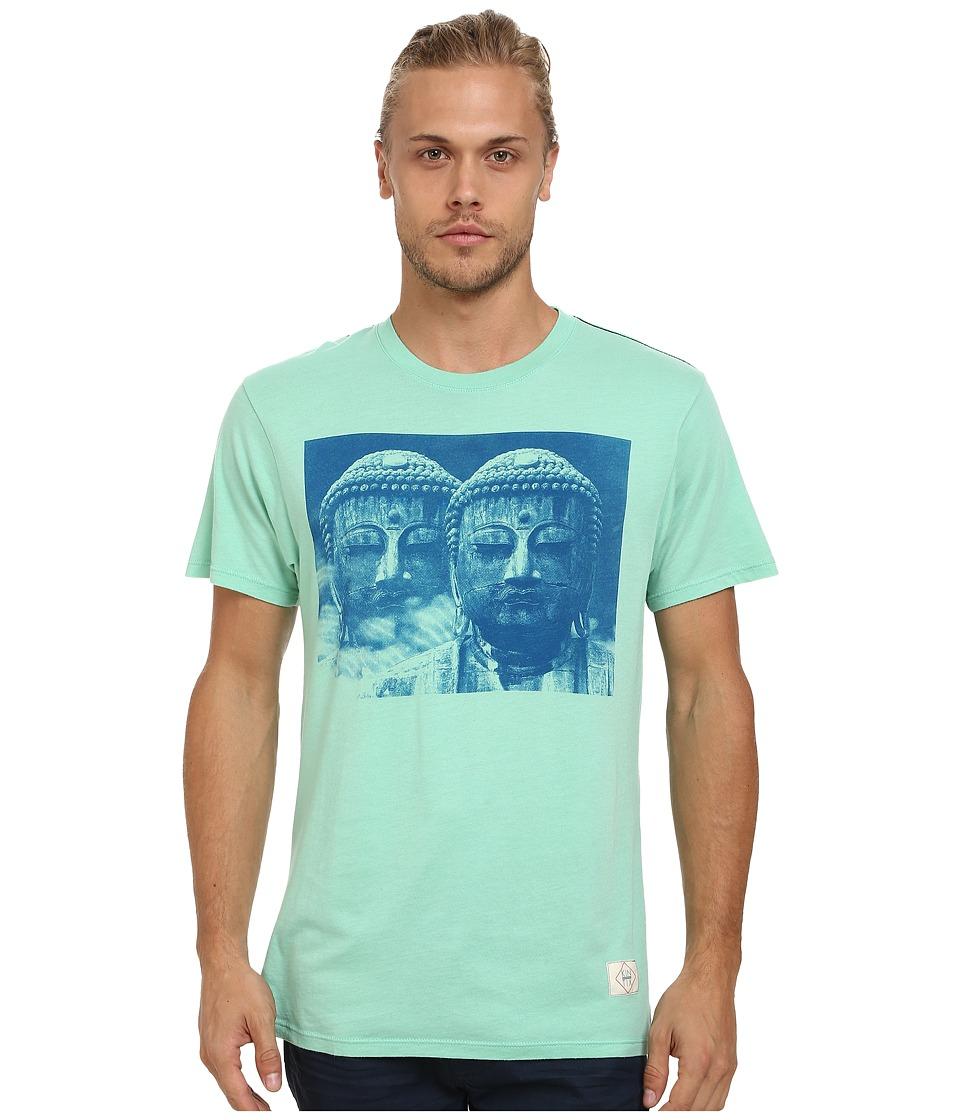 KINETIX - Buddha 2 Premium Tee (Mint) Men's T Shirt