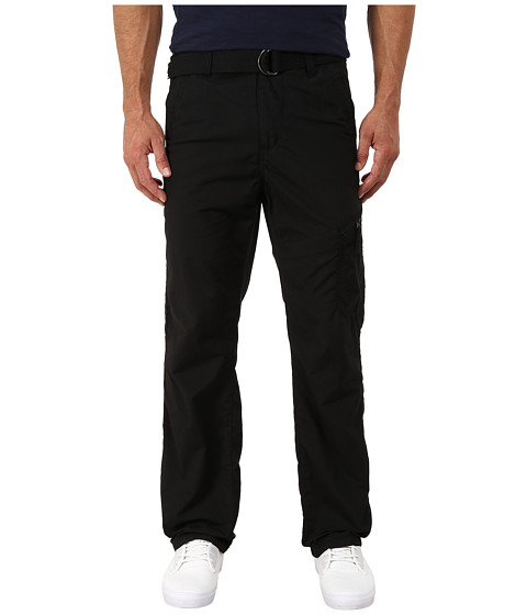 UNIONBAY - Dover Belted Chino (Black/Belt) Men's Casual Pants