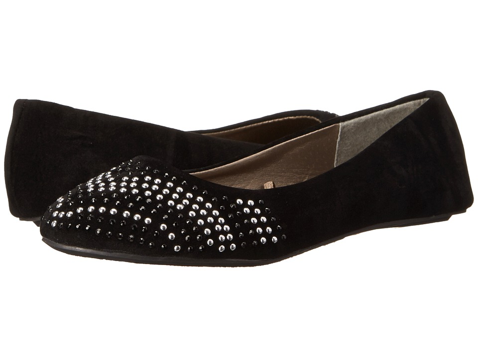 Simply Petals - G-Cher (Little Kid/Big Kid) (Black) Girl's Shoes