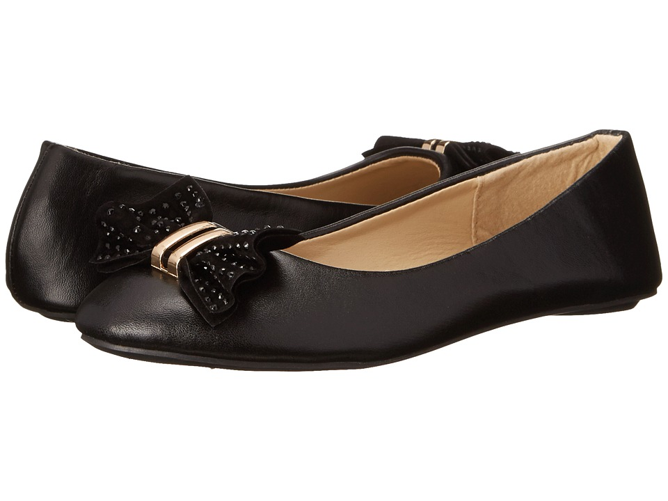 Simply Petals - G-Fanny (Little Kid/Big Kid) (Black) Girl's Shoes
