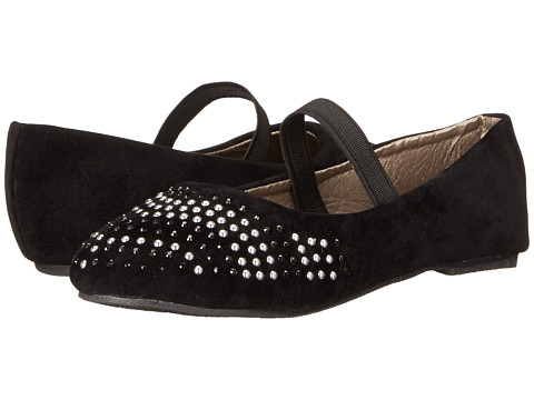 Simply Petals - G-Cher (Toddler) (Black) Girl's Shoes