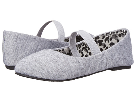 Simply Petals - Jersey-TG (Toddler) (Grey) Girl's Shoes