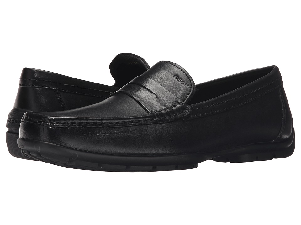 Geox - Mmonetw2Fit2 (Black) Men's Shoes