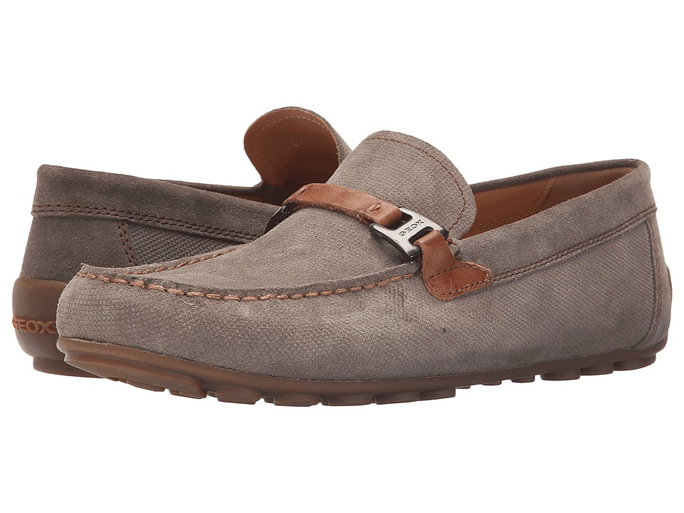 Geox - Mgiona2 (Dove Grey/Cognac) Men's Shoes