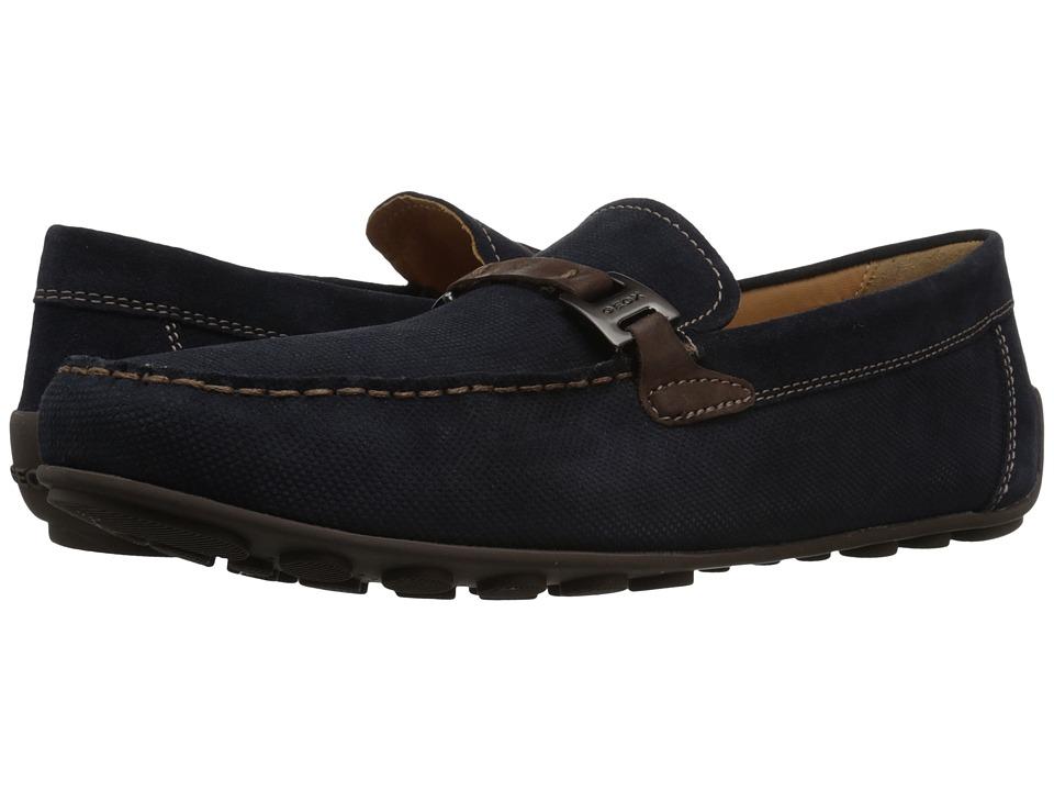 Geox - Mgiona2 (Navy/Dark Brown) Men's Shoes