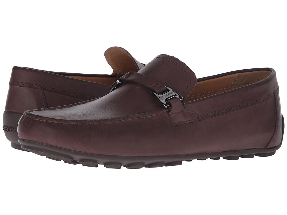 Geox - Mgiona1 (Dark Brown) Men's Shoes