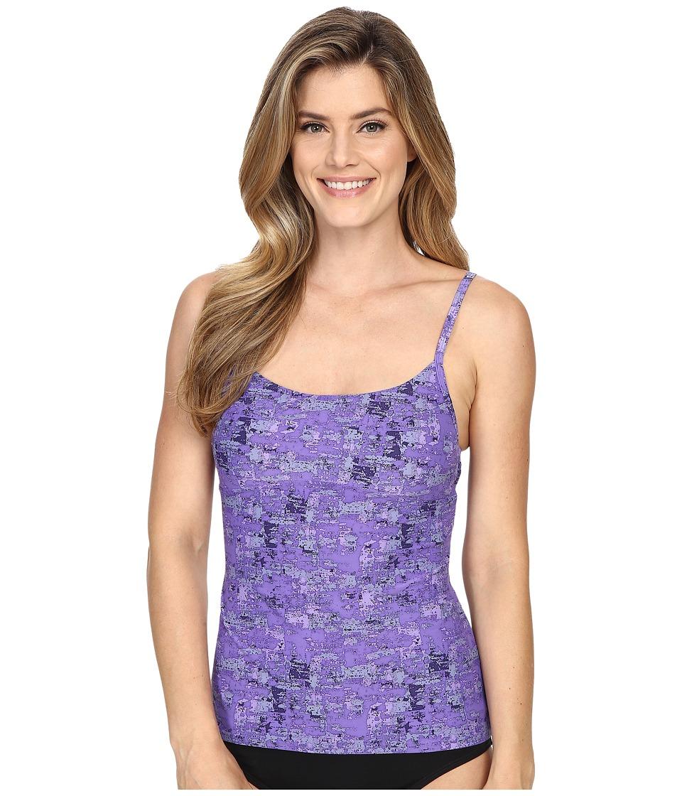 Lole - Paradise Tankini (Iris Impressionist) Women's Swimwear