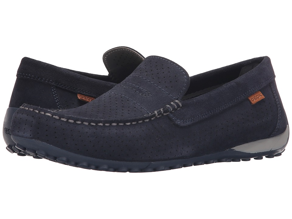 Geox - Msnakemoc2Fit1 (Navy) Men's Shoes