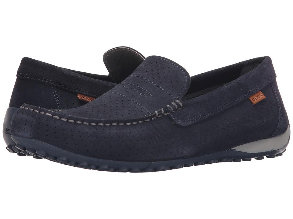 Geox - Msnakemoc2Fit1 (Navy) Men's Shoes