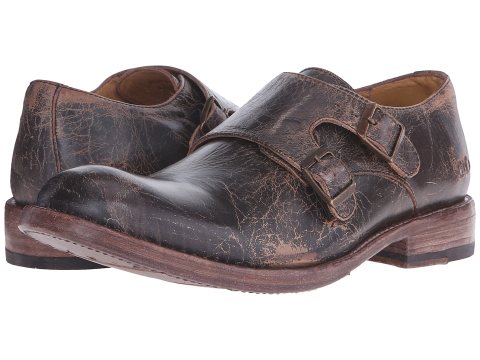 Bed Stu - Panza (Teak Lux Leather) Men's Slip on Shoes