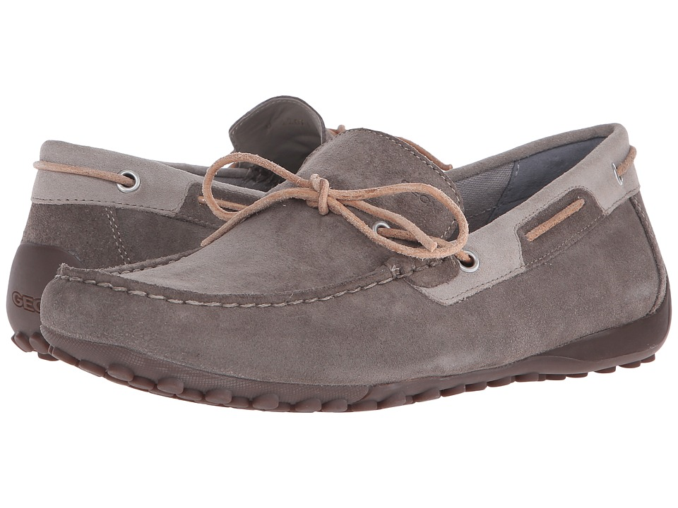 Geox Uomo Snake Mocassino (Dove Grey/Shells) Men