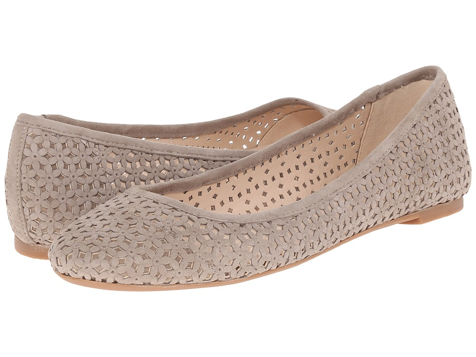 Nine West - Atypical (Taupe Suede) Women's Slip on Shoes