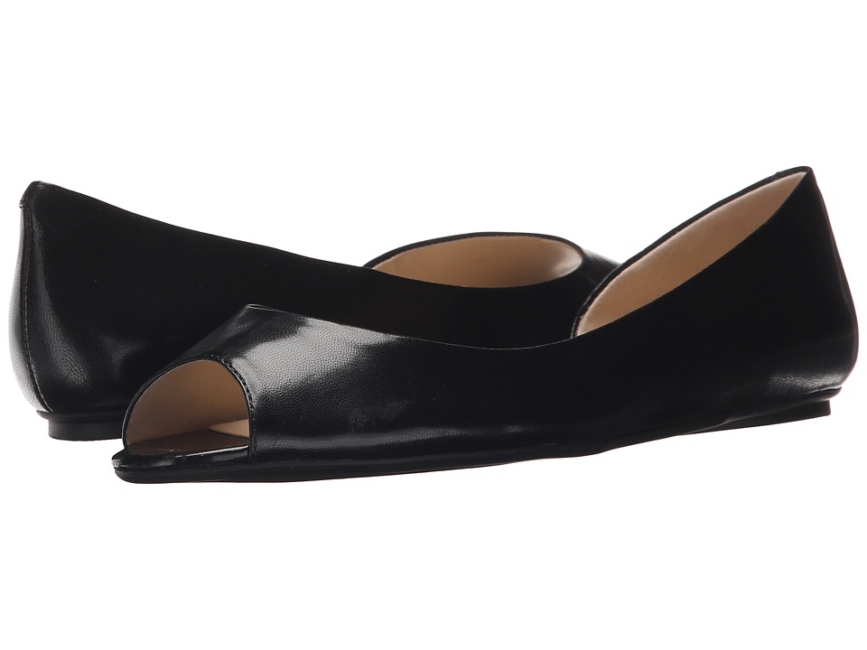 Nine West Bachloret (Black Leather) Women