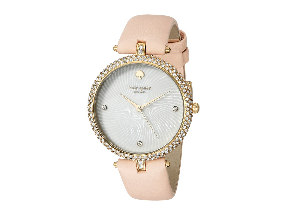 Kate Spade New York - Eldridge - KSW1013 (Tan on Gold) Watches