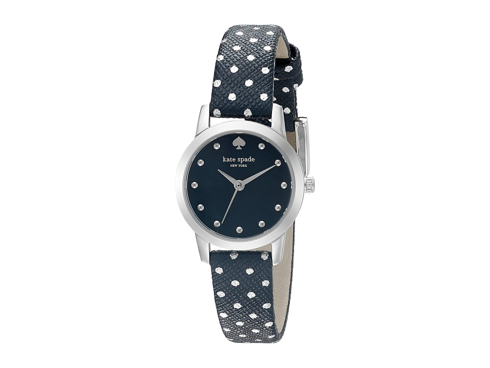 Kate Spade New York - Mini Metro - KSW1023 (Navy/Silver) Watches