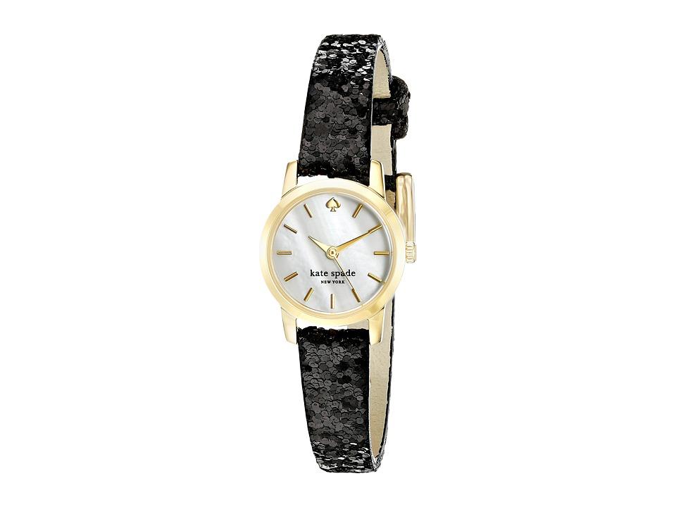 Kate Spade New York - Tiny Metro - KSW1010 (Black on Gold) Watches