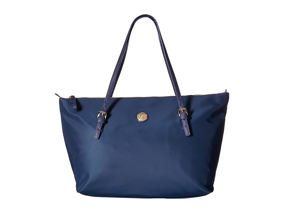 Tommy Hilfiger - TH Shopper - Nylon Large Tote (Navy) Tote Handbags