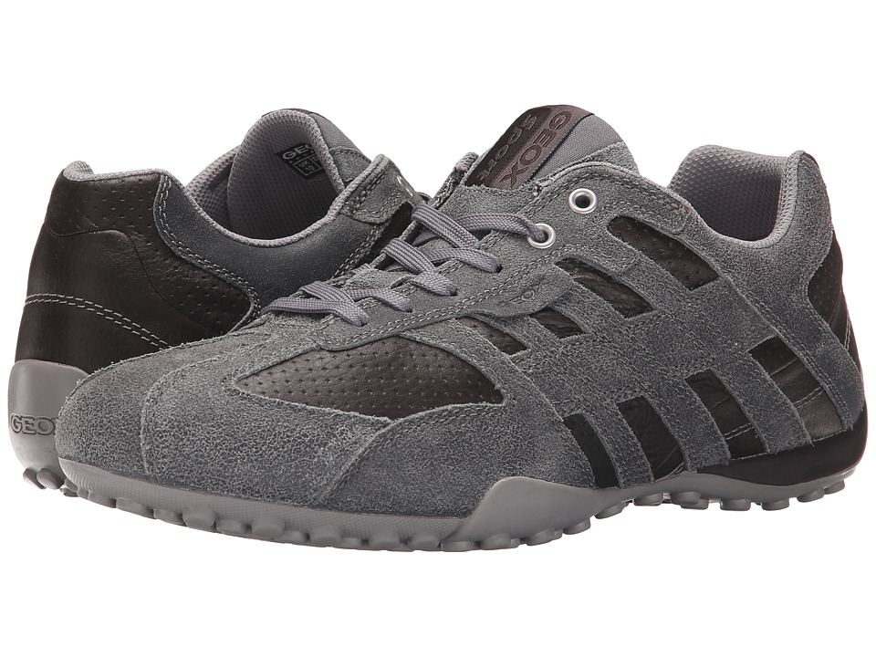 Geox - Msnake113 (Grey/Coffee) Men's Shoes