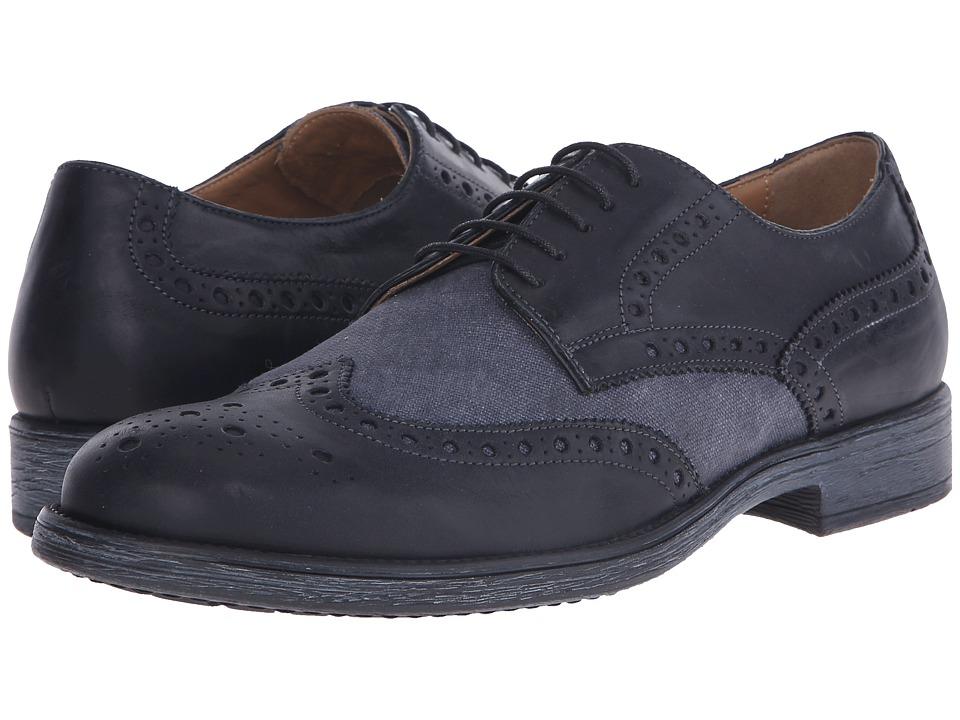 Geox - Mjaylon7 (Black/Dark Grey) Men's Shoes