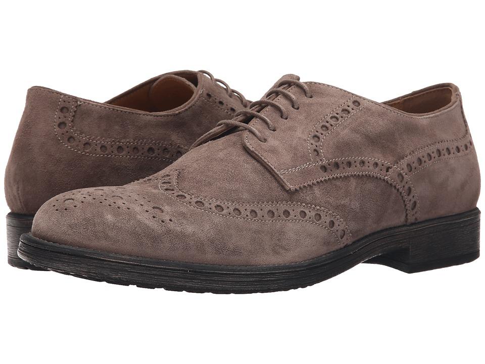 Geox - Mjaylon6 (Dove Grey) Men's Lace up casual Shoes