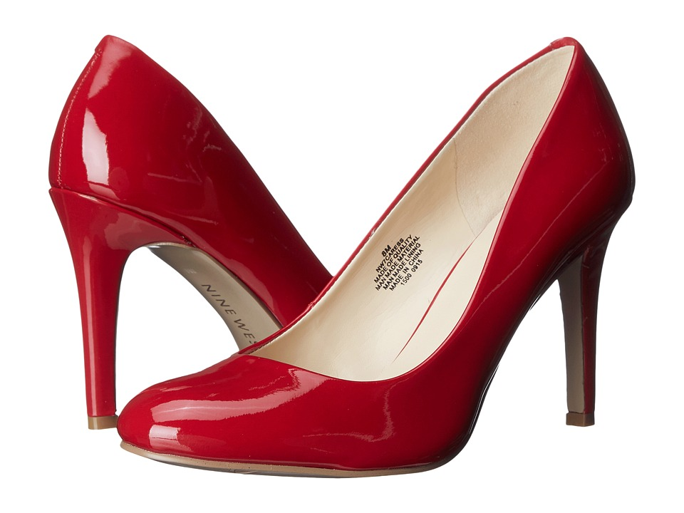 Nine West - Caress (Red Synthetic) High Heels