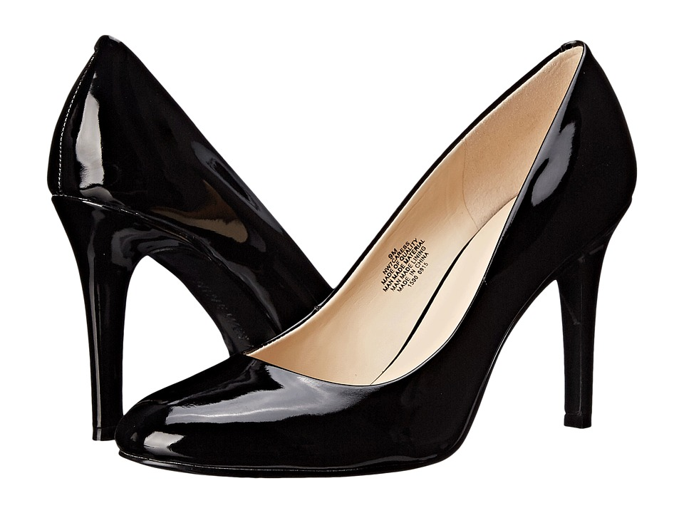 Nine West - Caress (Black Synthetic) High Heels