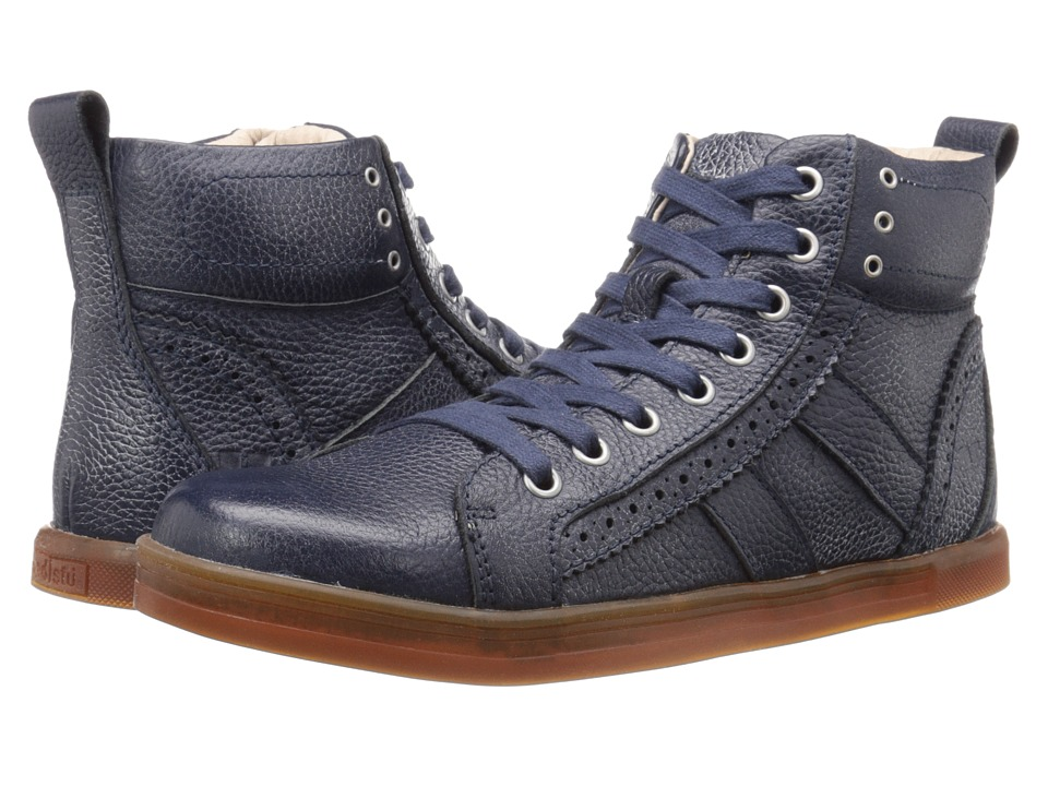 Bed Stu - Brentwood (Navy Floater/White BFS Leather) Men's Lace-up Boots