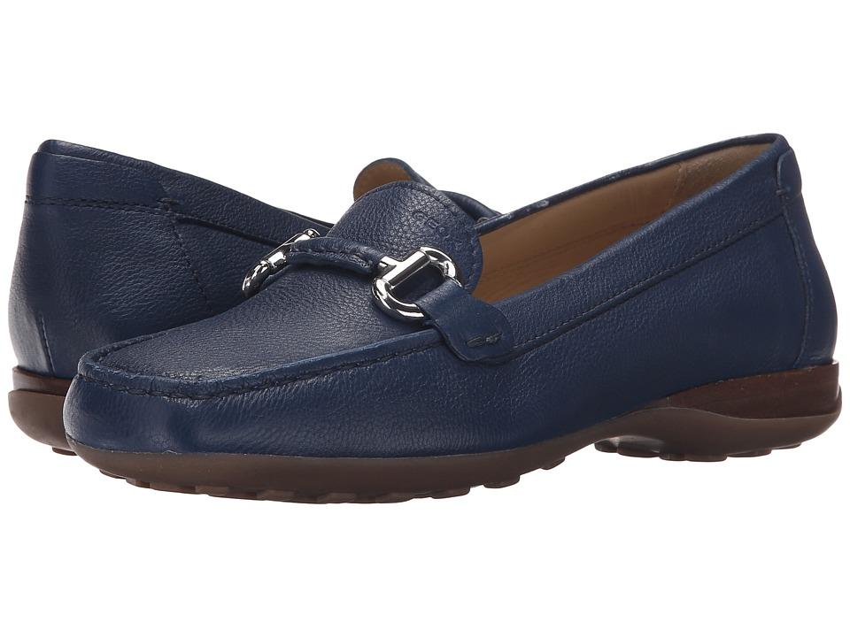 Geox - WEURO64 (Dark Royal) Women's Slip on Shoes