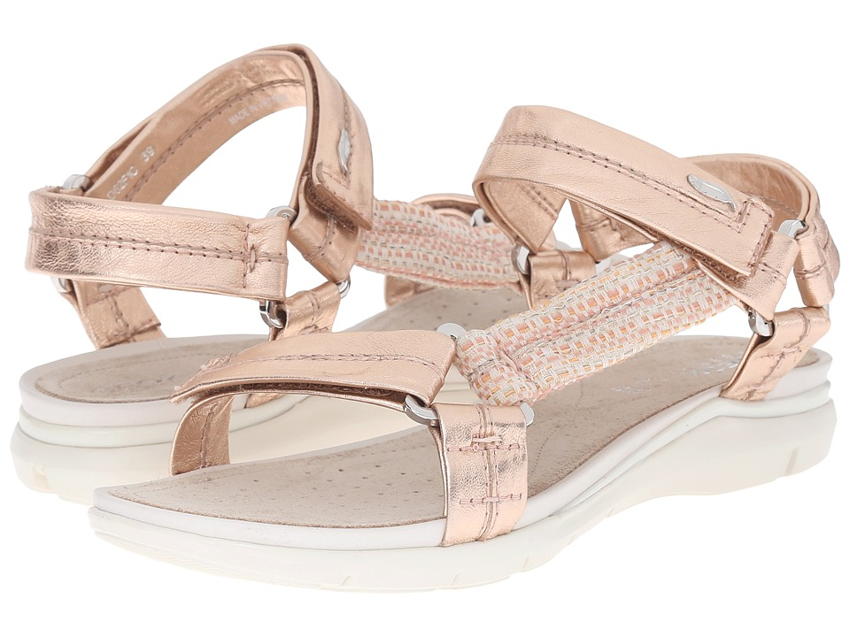 Geox - WSANDALSUKIE4 (Rose Gold/Peach) Women