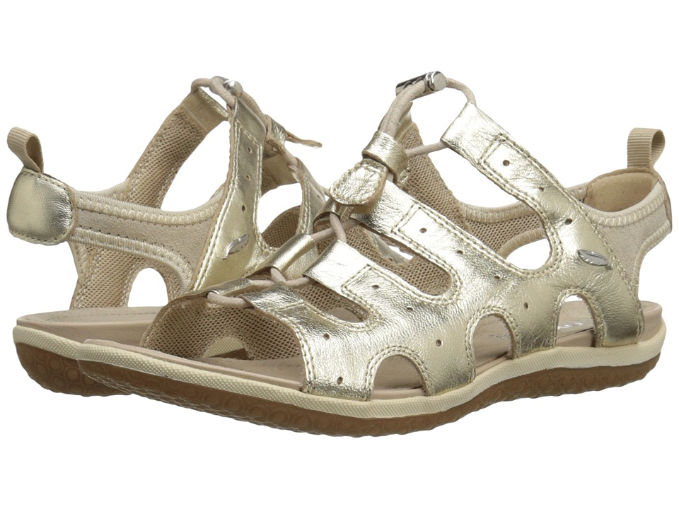 Geox - WSANDALVEGA3 (Light Gold) Women