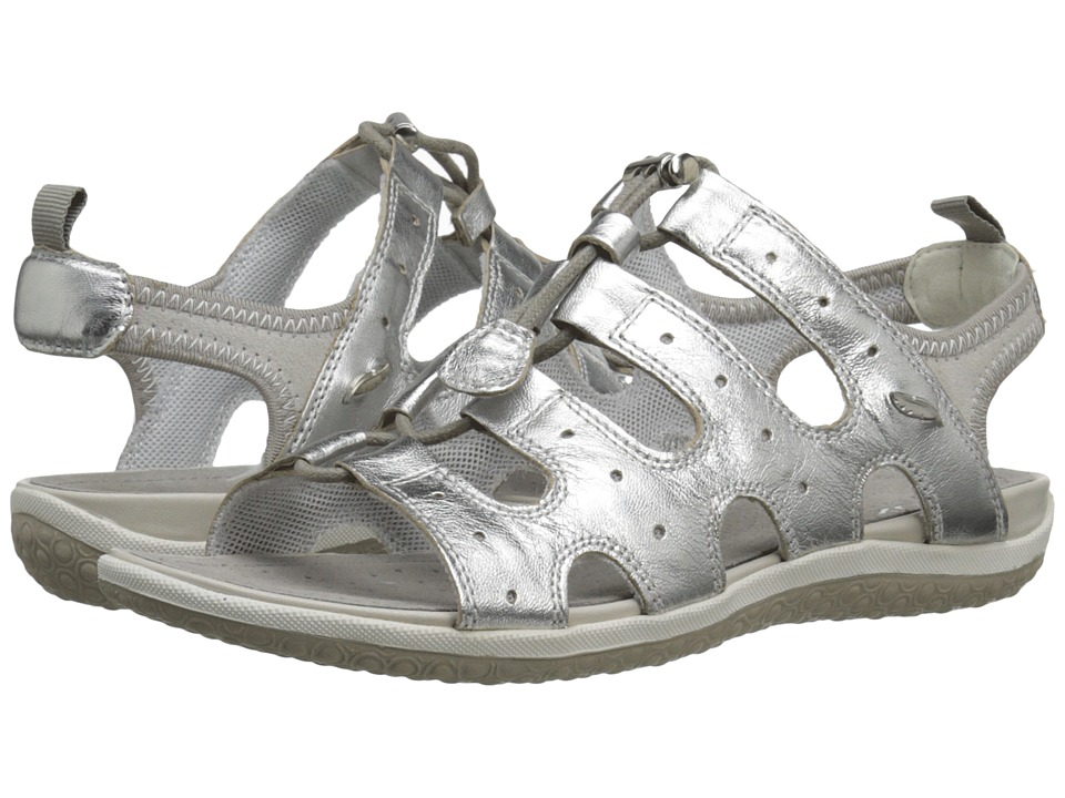 Geox - WSANDALVEGA3 (Silver) Women's Shoes