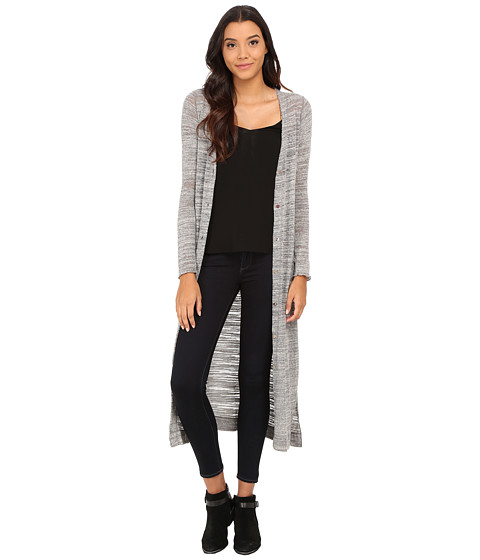 LAmade - Veneto Extra Long Cardi (Stone) Women's Sweater