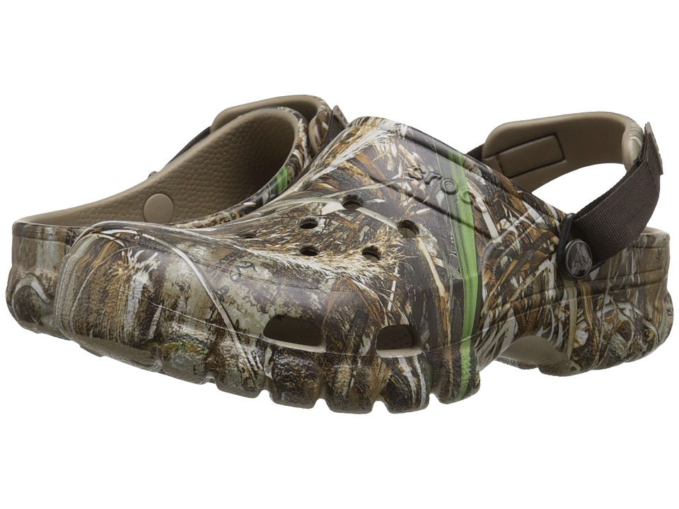 Crocs - Off Road Sport Realtree Max-5 (Chocolate/Khaki) Shoes