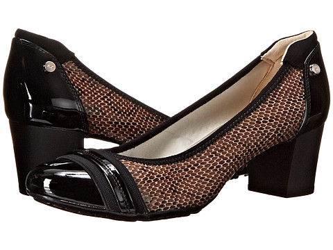 Anne Klein - Guardian (Dark Taupe Multi Fabric) High Heels