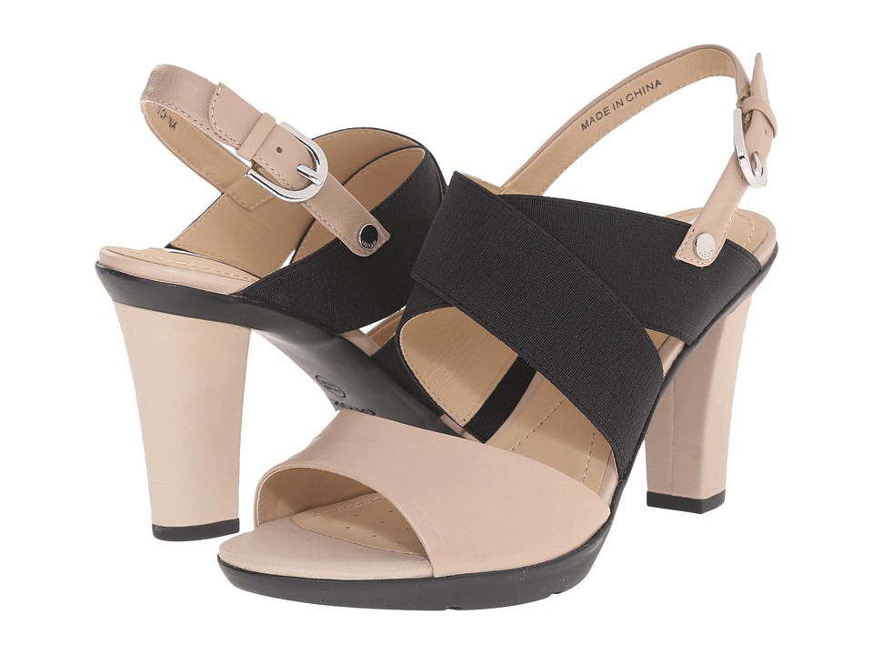 Geox WJADALIS2 (Light Taupe/Black) High Heels