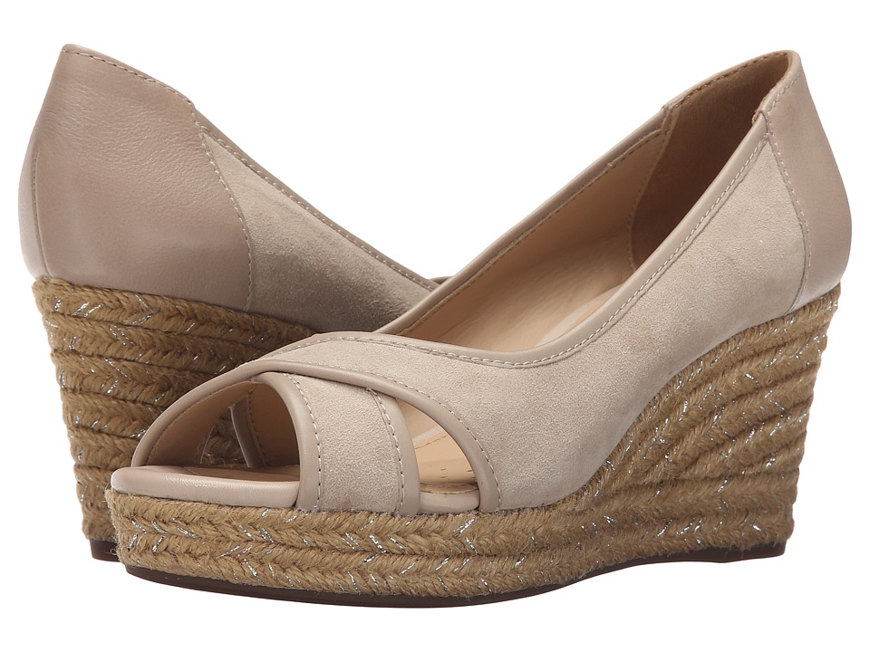 Geox - WSOLEIL8 (Light Taupe) Women's Wedge Shoes