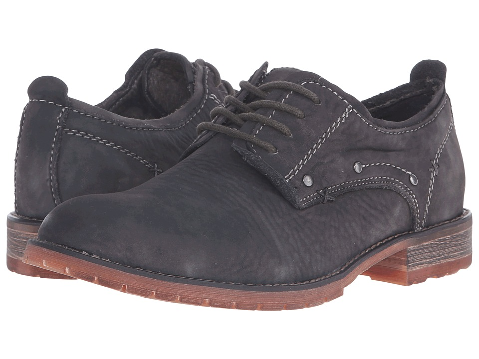 Bed Stu - Dupont (Black Garment Dye Leather) Men's Lace up casual Shoes