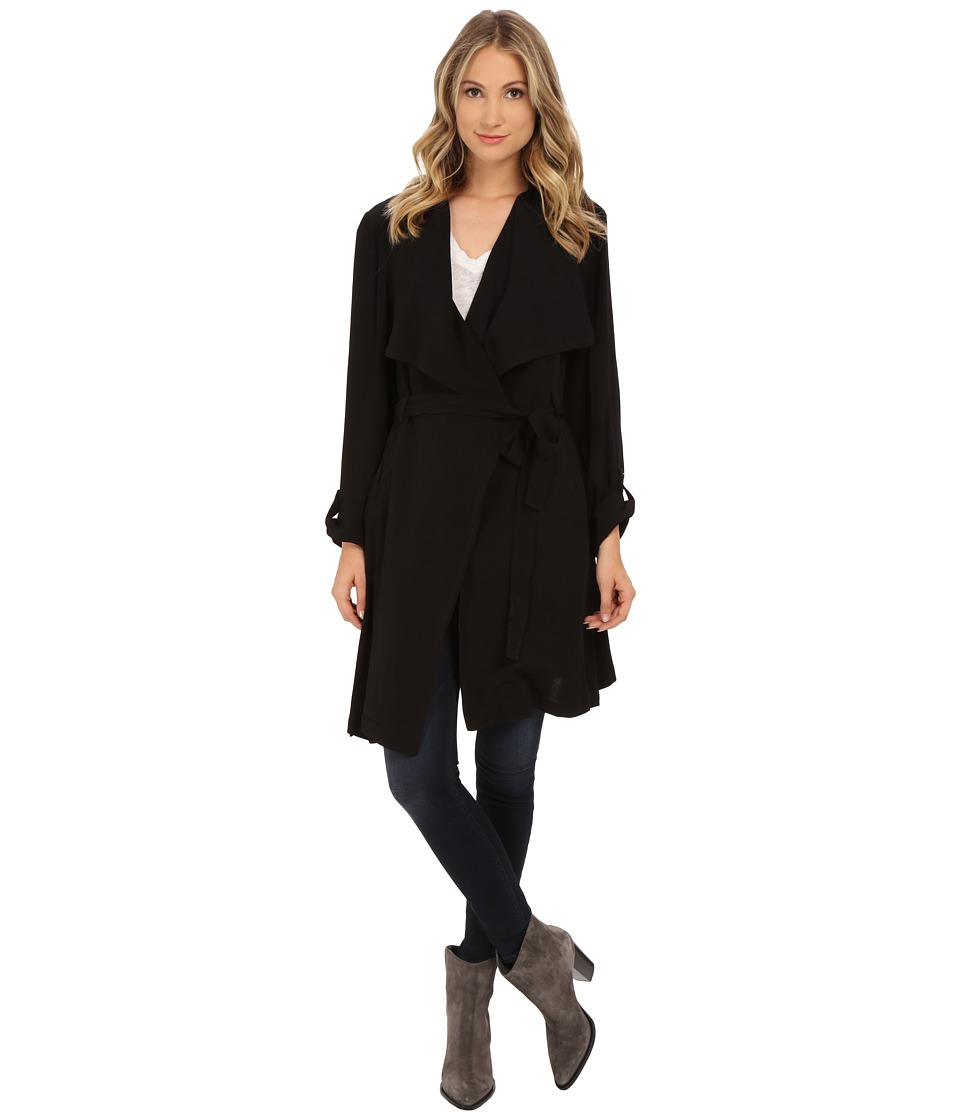 LAmade - Alexa Trench Coat (Black) Women's Coat