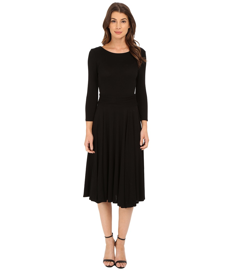 LAmade Maggie Midi Dress (Black) Women