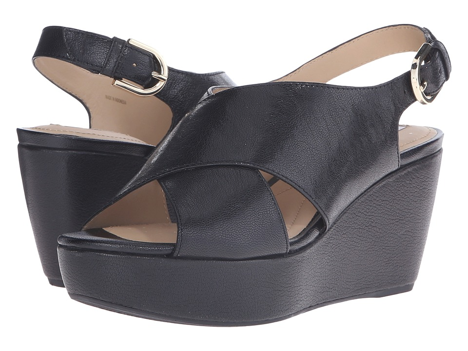 Geox - WTHELMA5 (Black) Women's Wedge Shoes