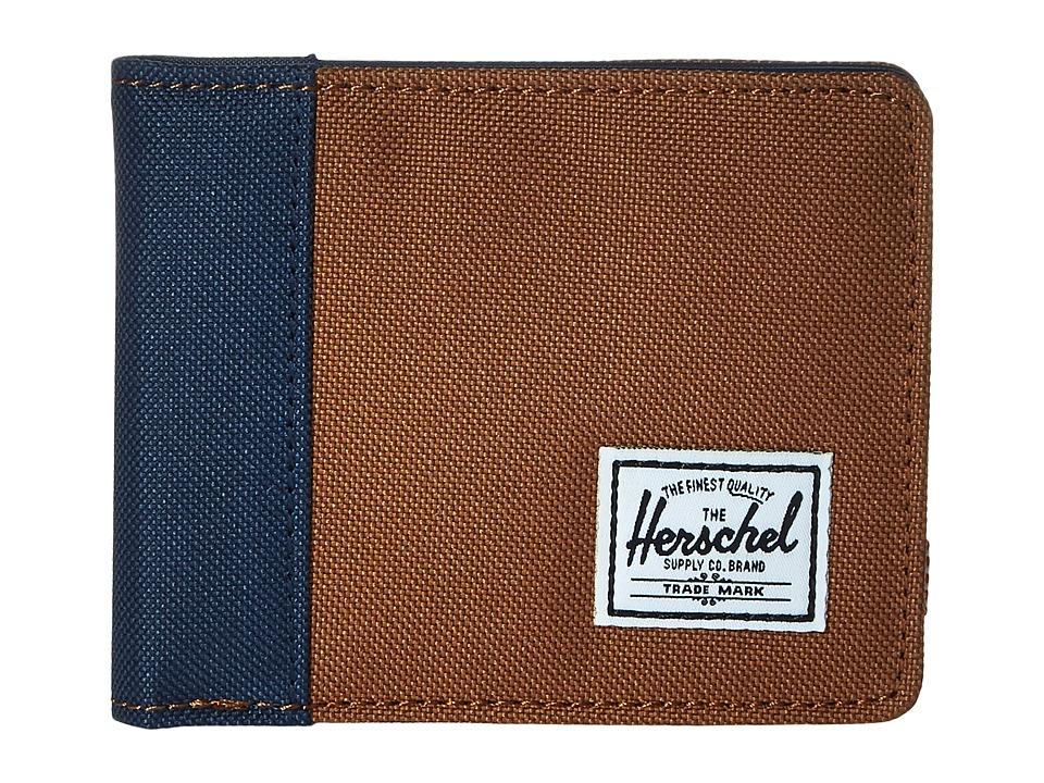 Herschel Supply Co. - Edward (Caramel/Navy) Bi-fold Wallet